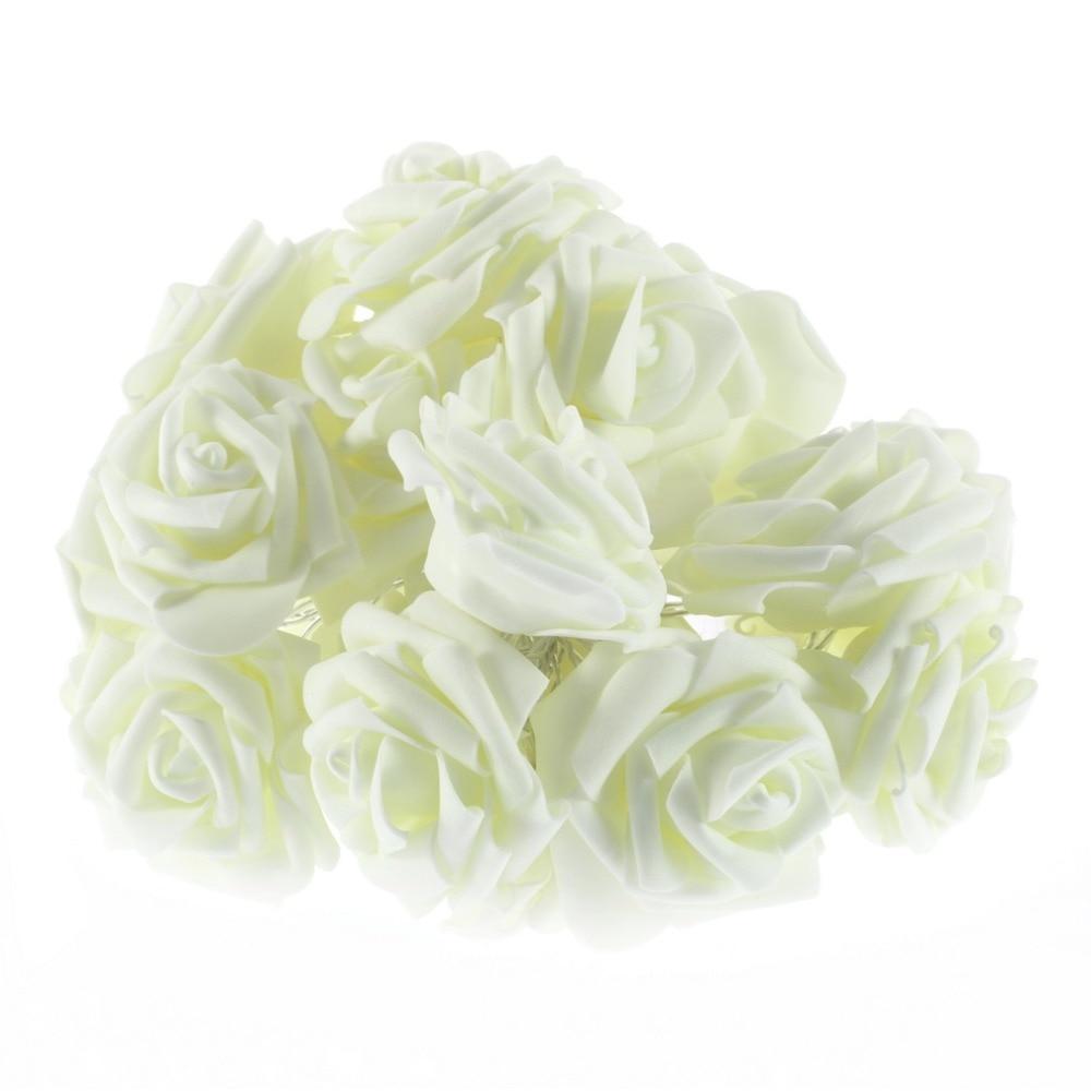 ICOCO 2017 visoke kvalitete 20 LED romantični ruža cvijet vila niz - Rasvjeta za odmor - Foto 5