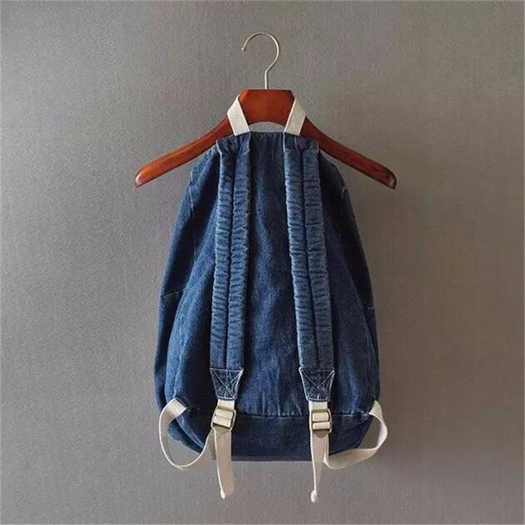 HTB1LS7JKpXXXXcAXpXXq6xXFXXXt - Denim backpack school bags for girls deep blue and light blue