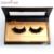 New beauty 1 par 3d vison cílios postiços 100% real do vison Faux Fur Handmade Falso Extensão Do Chicote Indivíduo Tira Grossa Silvia Aris
