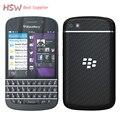 Оригинал Горячая продажа 100% Оригинал Оригинал Blackberry Q10 8MP 2 ГБ RAM + 16 ГБ ROM 4 Г Сеть FM Wi-Fi отремонтированы сотовый телефон