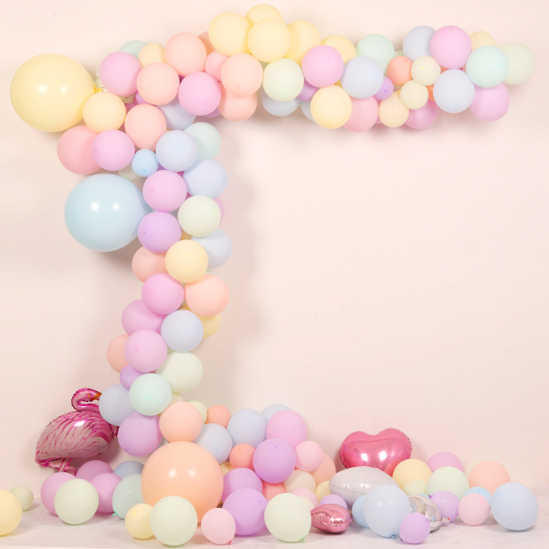 30pcs Macarons Latex Balloon For Birthday Party And Wedding Decorations 4