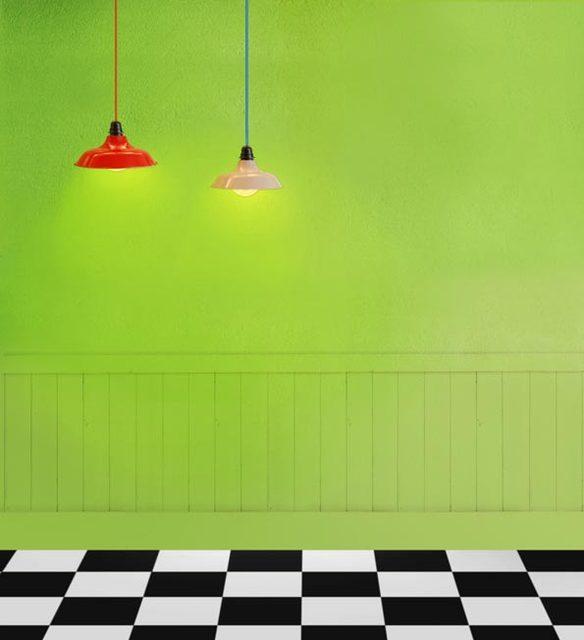 Semplice Verde Photography Sfondo Di Panno Bianco E Nero Del