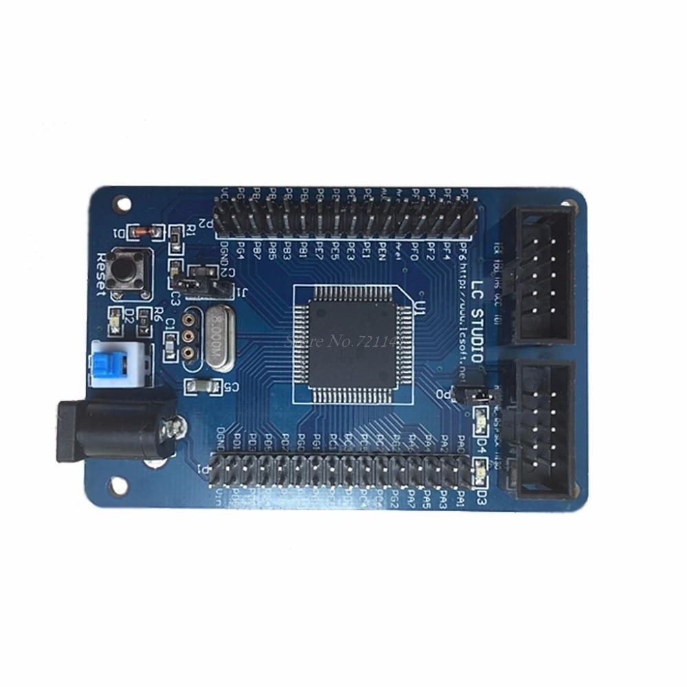 Development Board For ATMega128 M128 AVR Minimum Core Development System Board Module Dropship