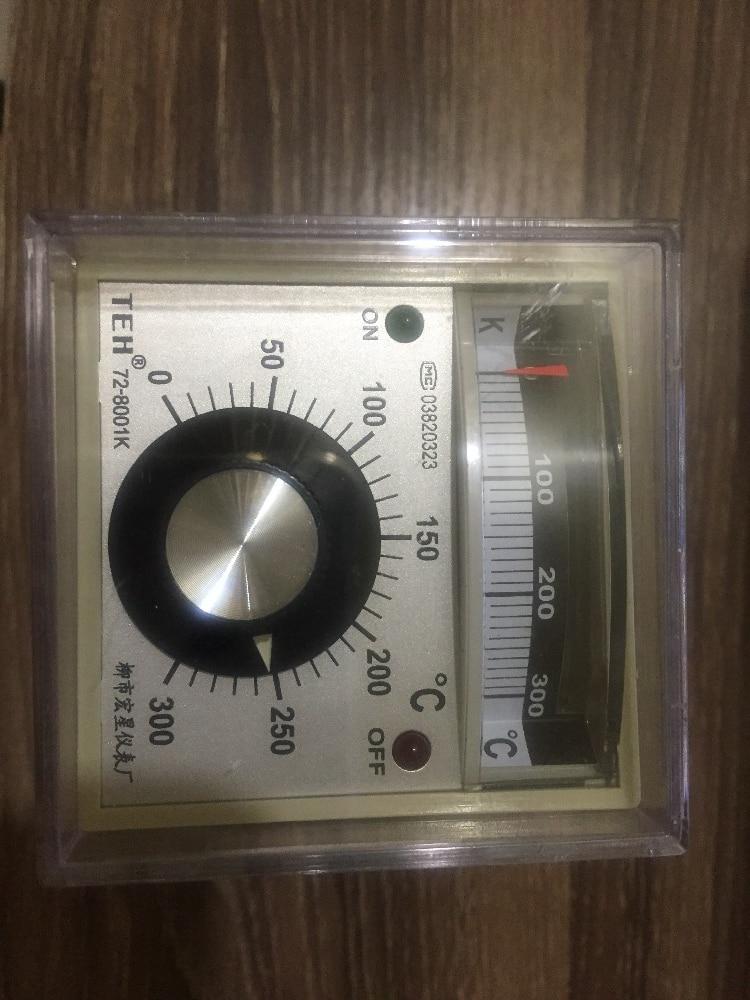 TEH72-8001 Temperatūros reguliavimo įtaisas 220v 380v, bendro - Matavimo prietaisai - Nuotrauka 2