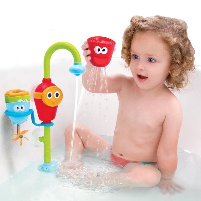 Bebé de Los Niños No Tóxicos Juguetes de Baño Aerosol Bathingroom Ducha Accesorios