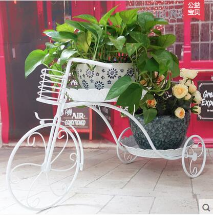 European new flower shelf, wrought iron multilayer money plant of bracketplant the floor more meat jardiniere
