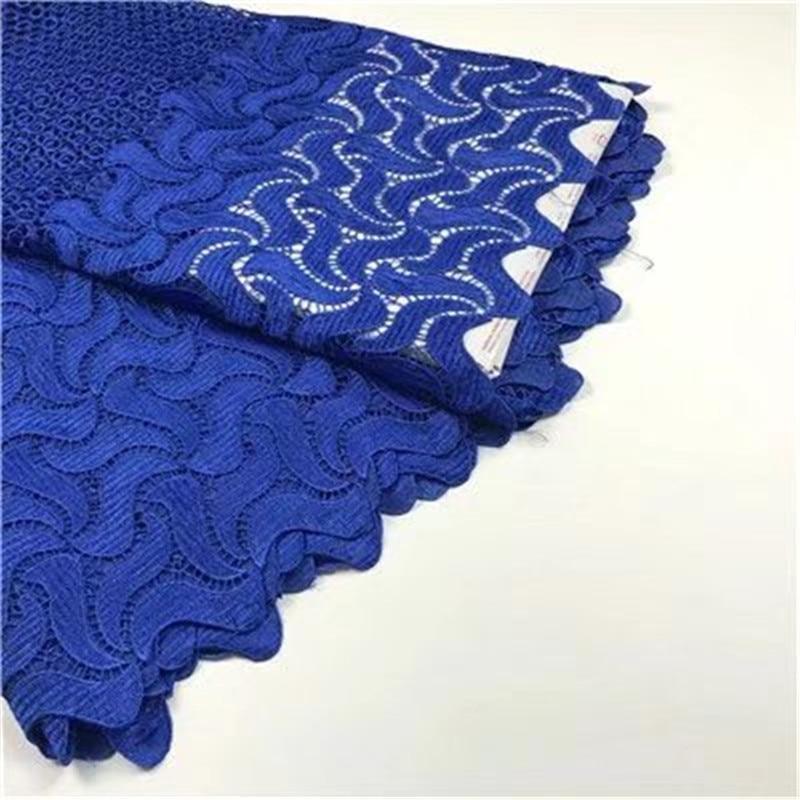 African Orange Lace Fabric Жоғары сапалы Нигерия - Өнер, қолөнер және тігін - фото 3