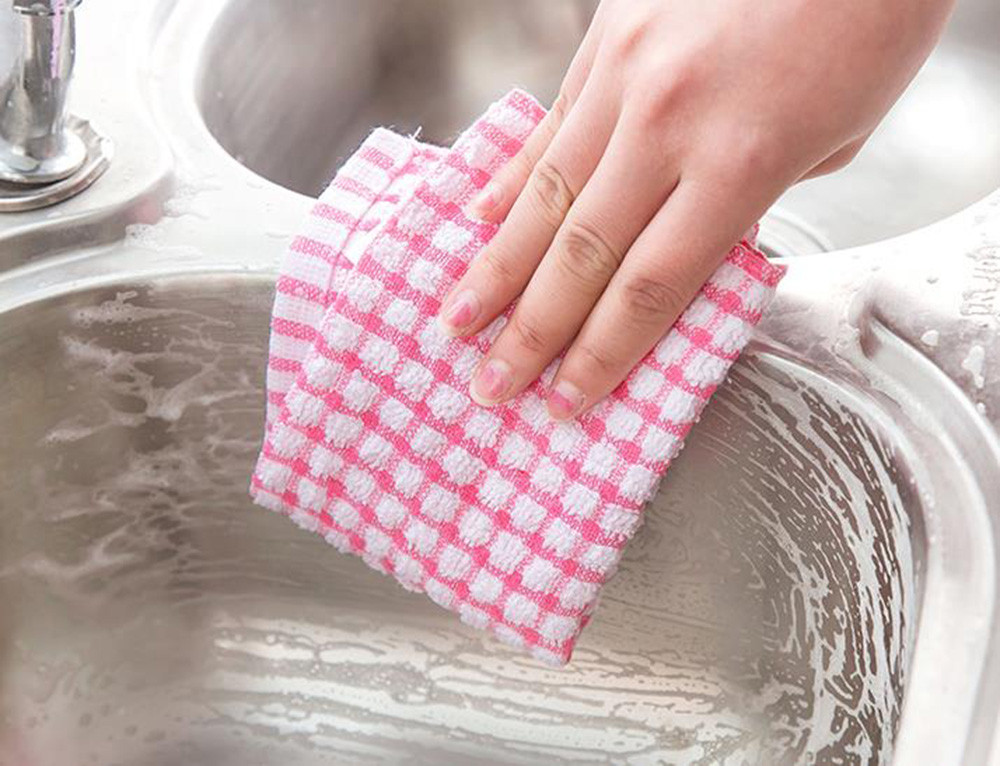 Absorbent Easy Cleanning Wash Cloth Car Kitchen Cleaning Microfiber Cleaning Towels Cloths