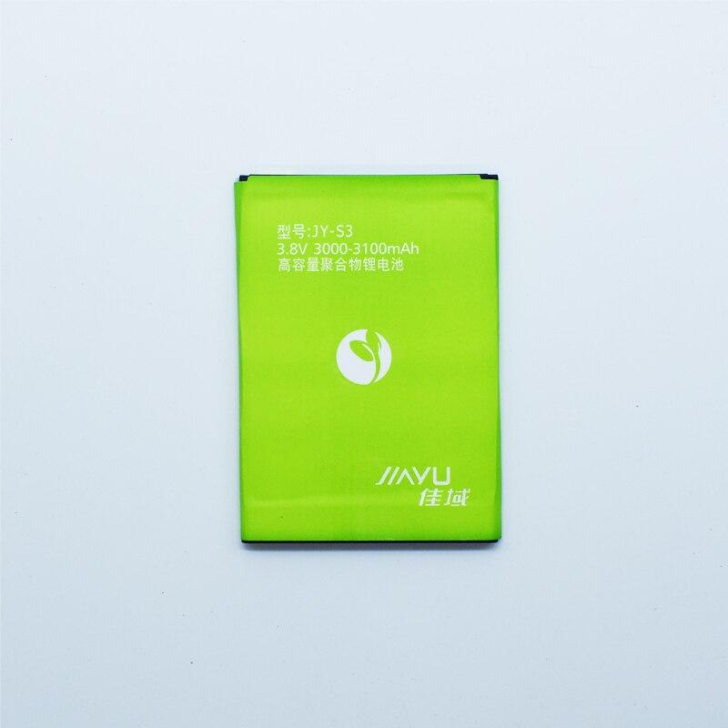 Hekiy New JY-S3 JYS3 JY S3 Battery For JIAYU S3 JIAYU-S3 JIAYUS3 3100mAh High Quality Phone Rechargeable Bateria