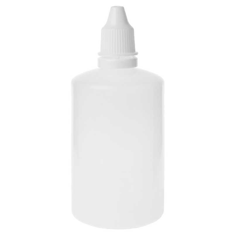 5-100ml Garrafas Vazias de Plástico Squeezable Conta-gotas Líquido Dropper Container