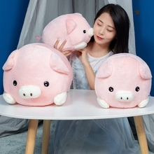 30/40/50 Cm Soft Pink Pig Plush Toy Stuffed Cute Plump Lovely Dolls For Kids Appease Babys Room Decoration