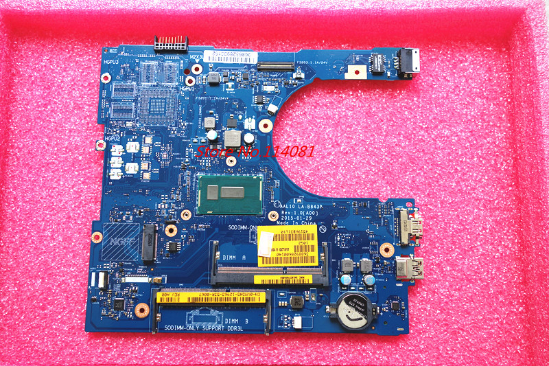 CN-0VMD45 VMD45 Suitable for Dell INSPIRON 5458 5558 5758 notebook Motherboard AAL10 LA-B843P REV:1.0(A00) 3805U ,product NEW