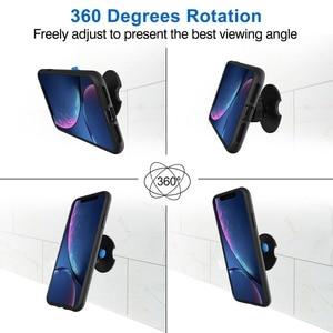 Image 5 - קיר הר מחזיק טלפון, טלפון טעינה מחזיק קולב סטנד אוניברסלי עבור iPhone אנדרואיד כל טלפון הד נקודה וכו .