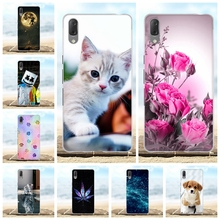 For Sony Xperia L3 Case Thin Soft TPU Silicone Cover Cute Animal Patterned Bumper Coque