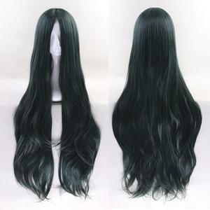 Image 2 - 100cm Korekiyo Shinguji Danganronpa V3: Killing Harmony Cosplay Wig Long Wavy Heat Resistant Synthetic Costume Party Wigs