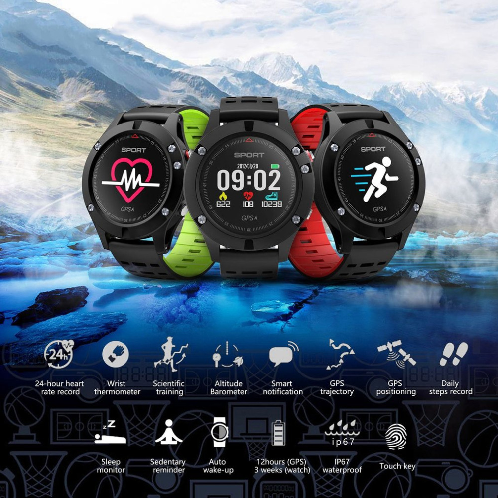 F5 GPS Outdoor tool Sports Man Dedicated Smart Watch Support Step Positioning Fitness Tracker Altitude Pressure WristwatchF5 GPS Outdoor tool Sports Man Dedicated Smart Watch Support Step Positioning Fitness Tracker Altitude Pressure Wristwatch