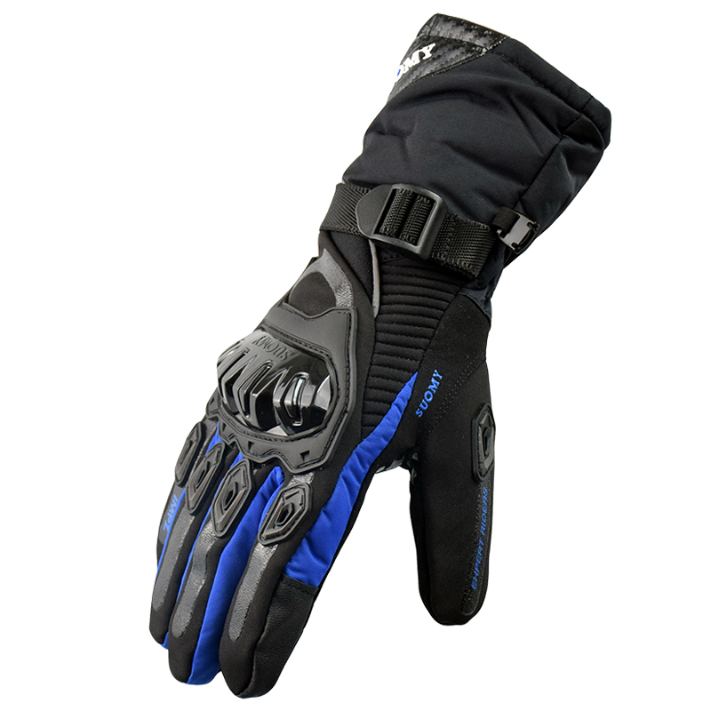 2017 Free shipping Winter warm motorcycle gloves 100% Waterproof windproof Guantes Moto Luvas Touch Screen Motosiklet Eldiveni