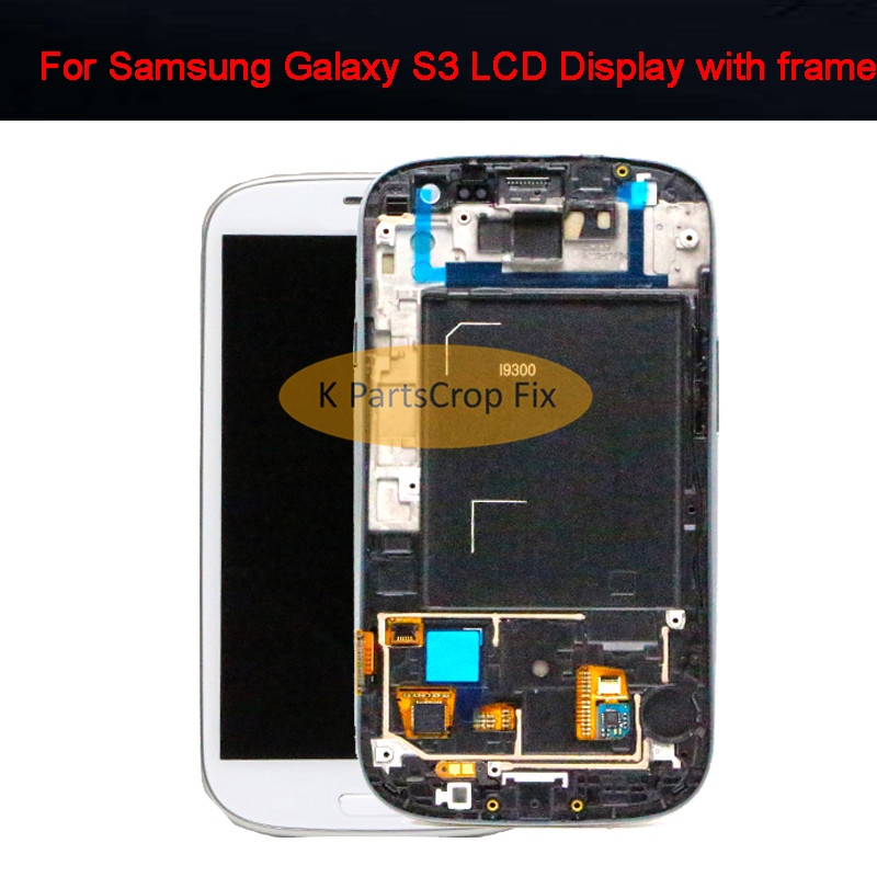 Amoled 4 8 inch LCD for SAMSUNG Galaxy S3 LCD Display GT i9300 i9300i Touch Screen
