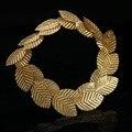Alta Calidad Clásica de Las Mujeres Hairbands Tiara de Oro Hojas Hairbands Hairwear Regalo de San Valentín Romántico CY161117-88