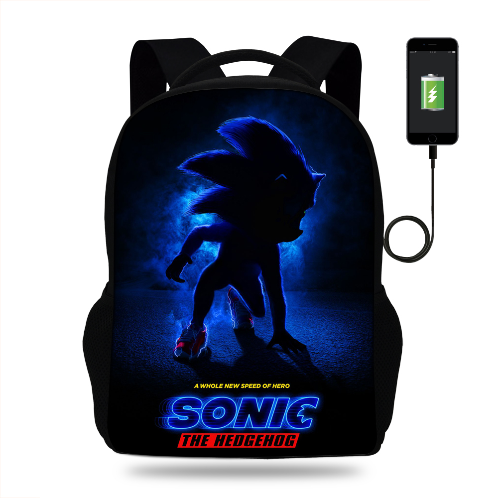 Backpacks Book-Bag Teenagers Boys School Kids Cartoon Print-Bag Girls Popular for Casual title=