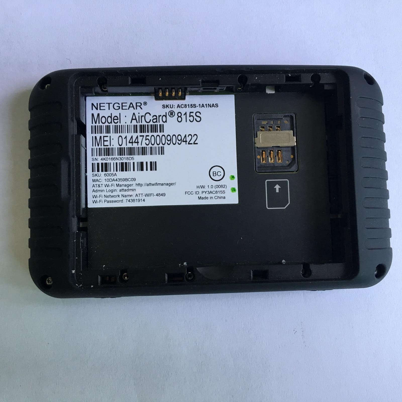 Разблокированный Netgear Aircard 815s AC815S at& T Unite Explore ore Mobile Hotspot 4340 мАч otg небольшой портативный USB внешний аккумулятор - 4