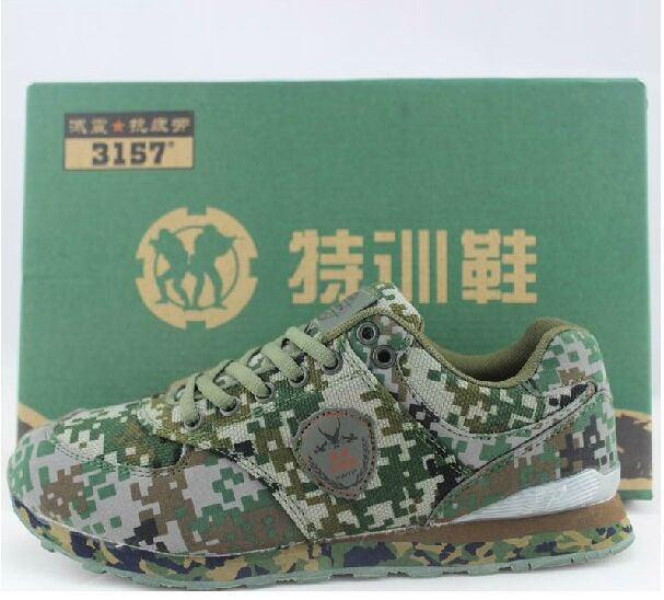 fc05edbbf1e23 2015 EU US China Men Brand Camo Canvas Shoes Army Military Training Rubber  Soled Running Shoes Outdoor Green Camo Casual Shoes-in Men's Casual Shoes  from ...