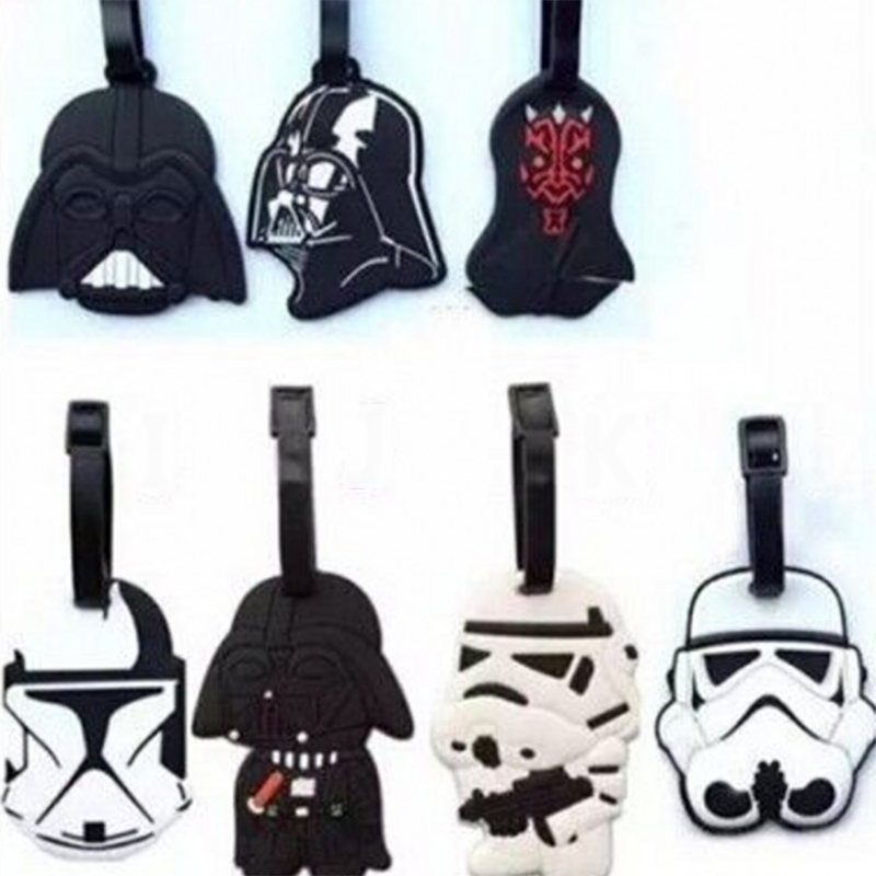 1 Pc Hot sale Star Wars Toy Star Wars Luggage Tags Suitcase Baggage Boarding Tags Portable Address Label