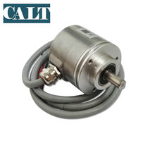 цена на Absolute Shaft Encoder Angular Displacement Sensor Absolute Rotary Pulse SSI Encoder