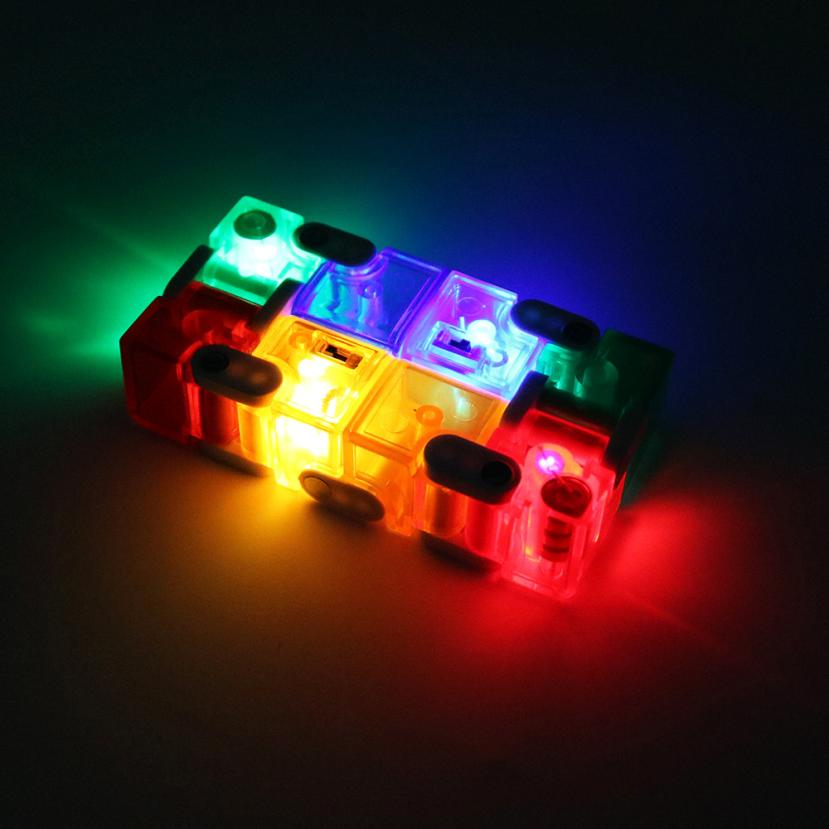 The Best Led Infinity Cube For Stress Relief Fidget Anti Anxiety Stress Funny Edc Toys Ar Toy Dropship Y731 Home