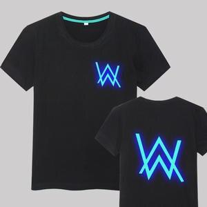 9594e6446a3 Baeybe luminous DJ Rapper men women top tees cotton t shirt