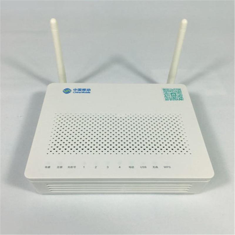 China Mobile Logo HUAWEI Fiber Optic Equipment HS8545M GPON ONU ONT FTTH HGU SC/UPC Router Mode 1GE+3FE+1TEL+USB+Wifi