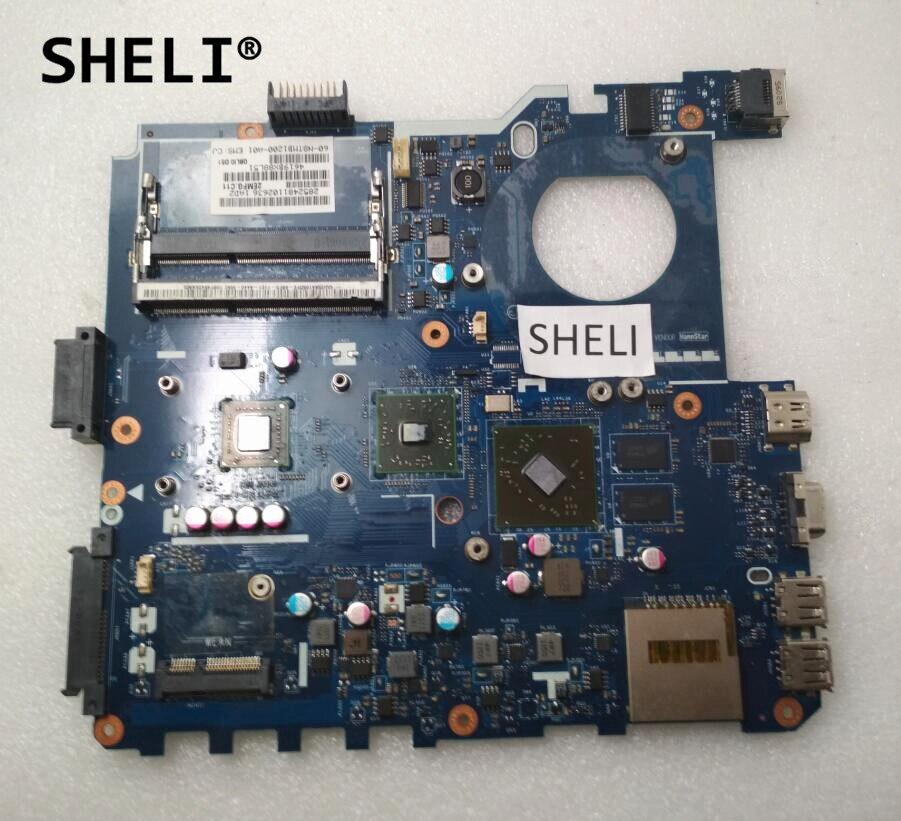 SHELI For ASUS K43B K43BR Motherboard E-450 HD7470M PBL50 LA-7321P