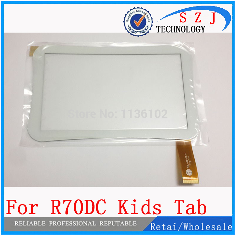 New 7 inch tablet of Beneve R70DC R70AC Kids Capacitive Touch screen Panel Free Shipping