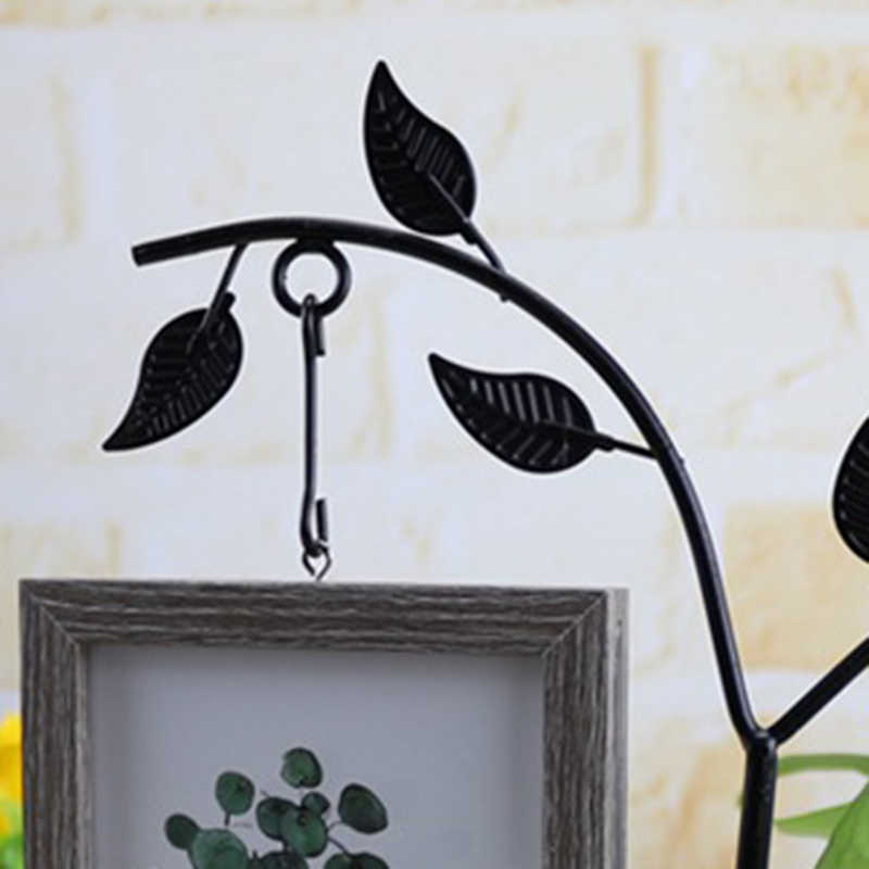 Features With Hydroponic 6 Inch Hanging Double-Sided Photo Frame Creative Personality Decorative Table Crafts Ornaments
