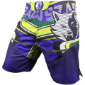 VSZAP BRAVES Men's boxingpants printing MMA fight fitness Muay Thai Brazil jujitsu Fight Grappling Polyester Kick Gel