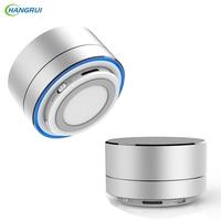 HANGRUI Mental Bluetooth Speaker Wireless Loudspeaker Portable Music Player Support TF Card Portable Speaker For Iphone