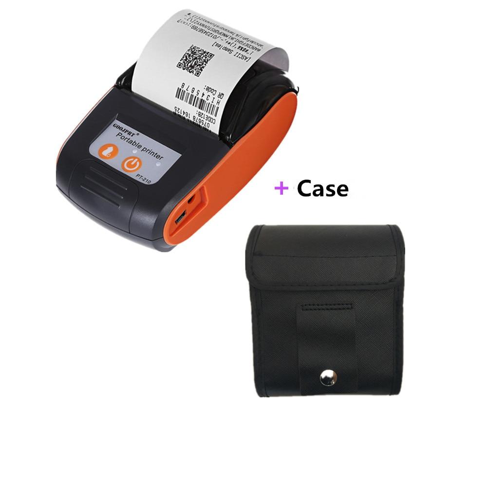 Printer set plus PVC case thermal receipt printer_