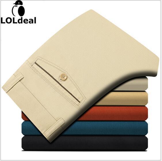 Winter New Fashion Slim Straight Men Casual Pants Men Pocket Trousers Plus Size Free Shipping