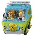 305 шт. Бела 10430 Тайна Машина Scooby Doo Фред Shaggy Зомби Зик игрушки строительные блоки Рождественский подарок SA562
