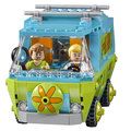 305 unids Bela 10430 La Máquina del Misterio, Fred Shaggy Scooby Doo Zombie Zeke SA562 bloques de construcción de juguetes de regalo de Navidad