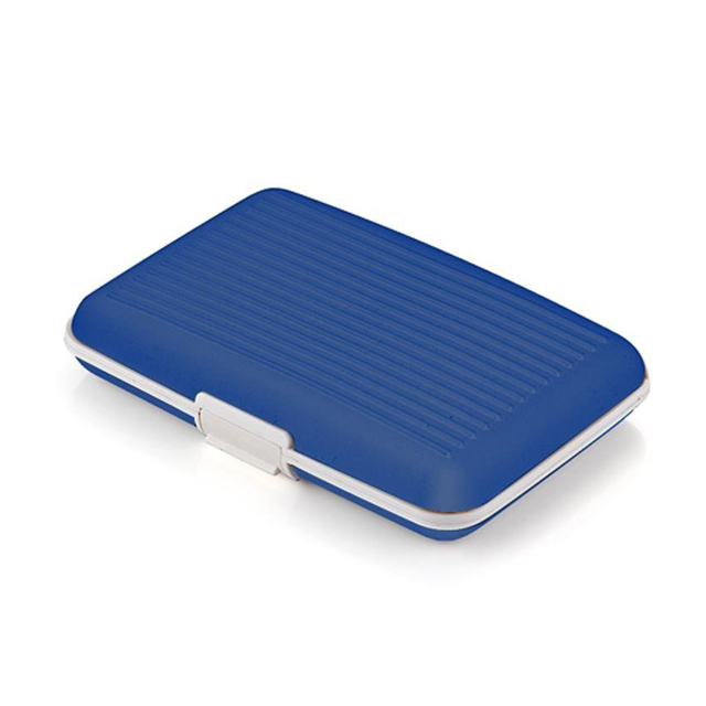 10pcs( ASDS Business cards holder Credit card silicone blue