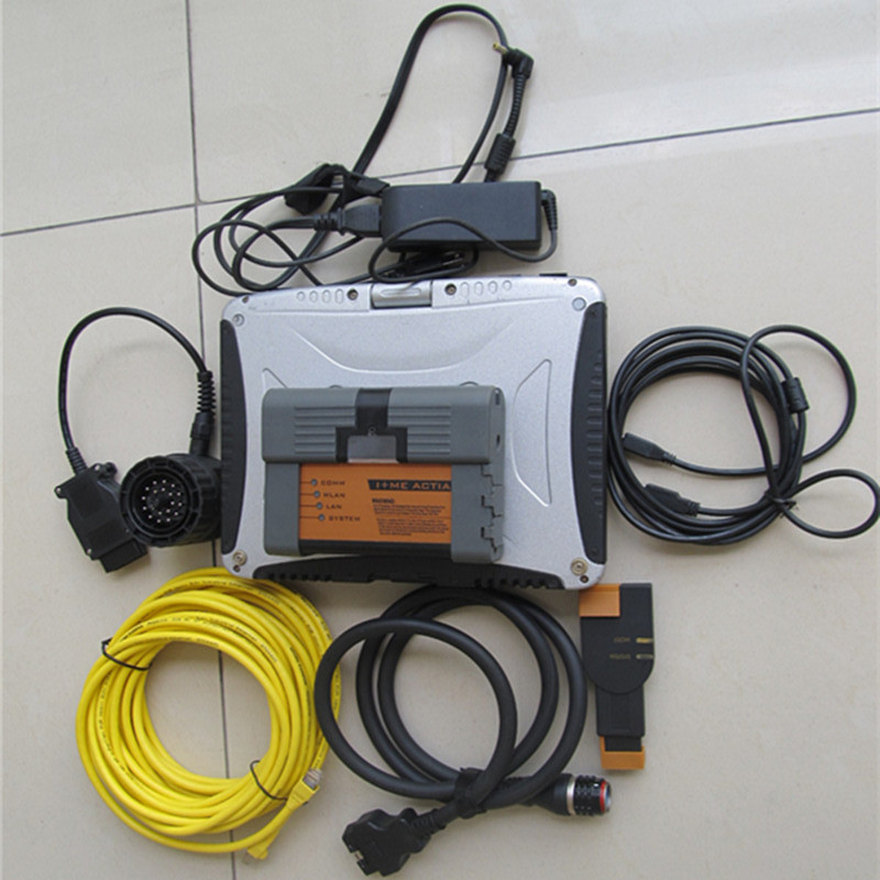 best For bmw diagnostic-tool icom a2 with software ista expert mode 500gb hdd with laptop cf19 all cables full set