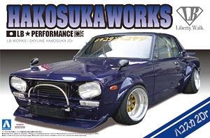 1/24 Car Model LB WORKS HAKOSUKA 2Dr 01149