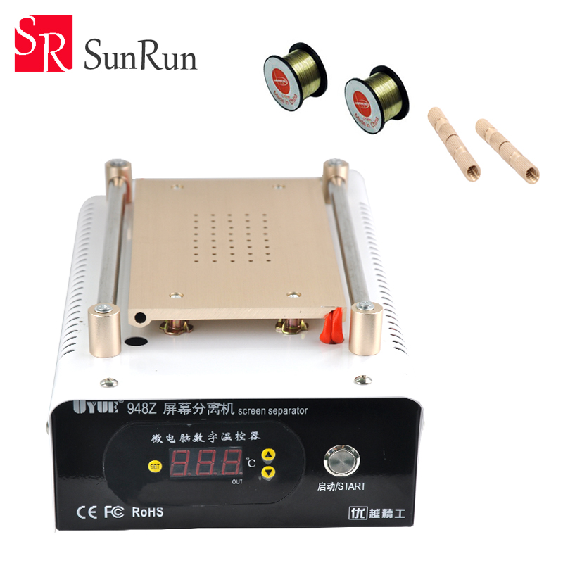 Free Shipping latest 110v/220v manual LCD 7 inch separator machine built-in vacuum pump for touch screen repair 2sets lot lcd separator machine 950 v 3 220v 110v with built in air pump free txa to europe
