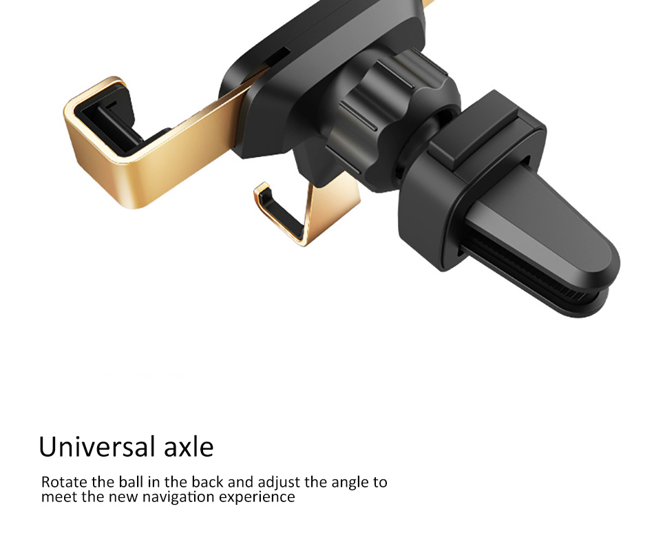 !ACCEZZ 360 Air Vent Mount For Huawei P20 iPhone 8 7 6 6s Plus Xiaomi 5 Samsung S8 S9 Degree Adjustable Gravity Car Phone Holder (10)