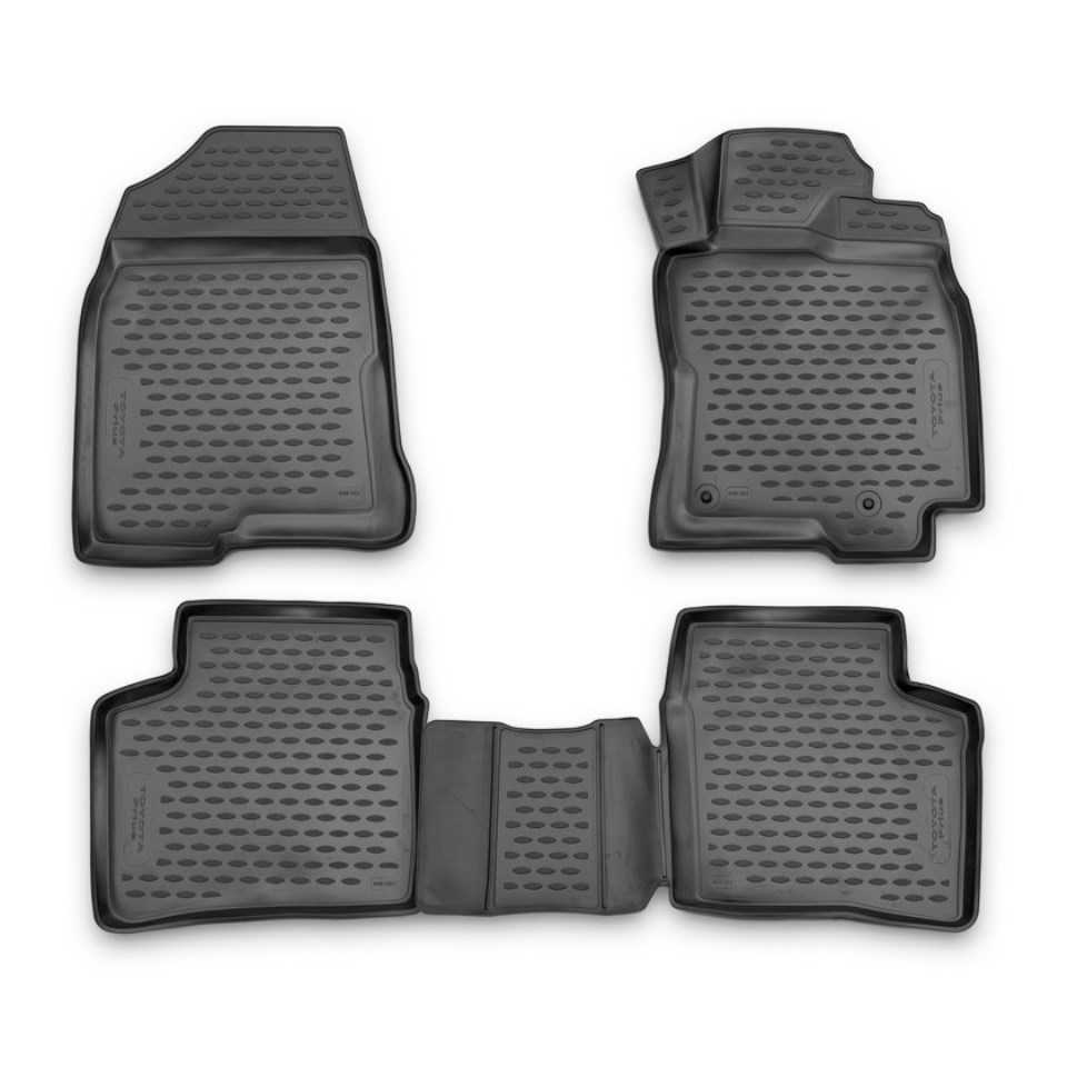 For Toyota Prius NHW20 2003-2009 RHD 3D floor mats into saloon 4 pcs/set Element NLC3D48101210K комплект 3d ковриков в салон автомобиля element toyota prius 20 rh 2003 2009