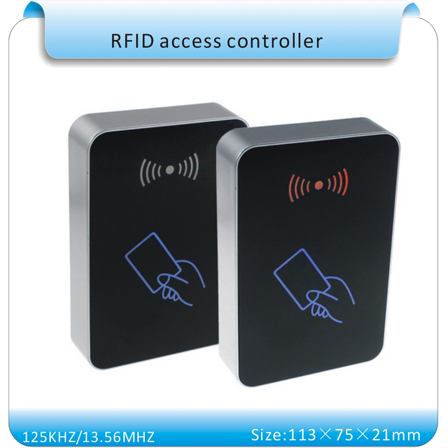 0a38826aa055 Free shipping SY-1599 Organic glass face 125KHZ RFID entrance guard    Access control system remote registered user+10pcs cards
