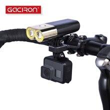 GACIRON الطريق الدراجة سبائك الألومنيوم متعددة الوظائف CameraBicycle حامل الكمبيوتر قابل للتعديل 31.8mm المقود جبل القوس الموسعة