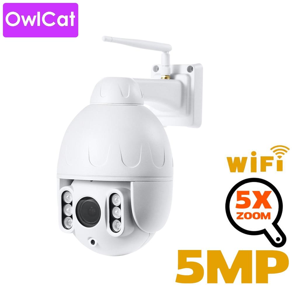 OwlCat Dome IP Camera Video Surveillace Wifi IR Auto Cruise Tour Audio MIC Record Two Way