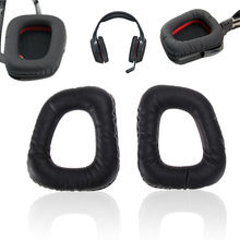 1 Pair Replacement Ear Pads Cushions Earmuffs Replace Ear Pads for Logitech G35 G930 G430 F450 Headphones Headset Case Cover New(China)